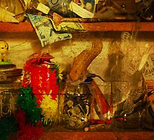 In the shelves of my cluttered mind by Mark Malinowski
