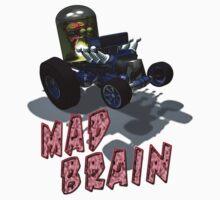 Wierd Wheels Mad Brain by mdkgraphics