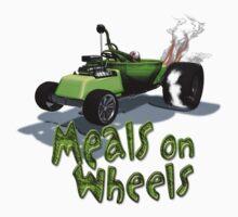 Wierd Wheels Meals on Wheels by mdkgraphics