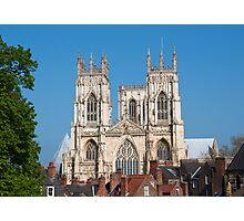 York Minster from across the rooftops Photographic Print
