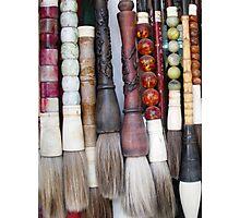 Calligraphy Brushes - Beijing, China Photographic Print