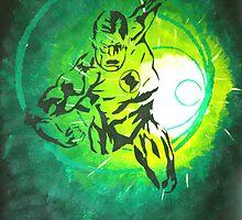 Green Lantern by Michael Birchmore