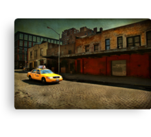 Meat Packing Taxi Canvas Print