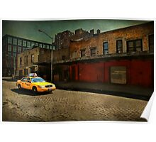Meat Packing Taxi Poster