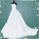 wedding dress  by torishaa