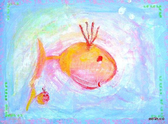 Mummy and kiddyfish by bibje