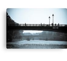 Paris in Motion Canvas Print
