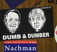 BUSH BUMPER STICKER-EPHEMERA, INC. by alex glanville