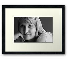 Alicia Framed Print