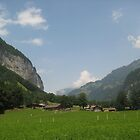 Valley Life - Lauterbrunnen, CH by Danielle Ducrest