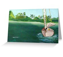 Don't Rock The Boat......................... Greeting Card