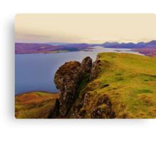Raasay & The Cuillins- Isle of Skye Canvas Print