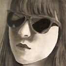 Girl in Sunglasses by jonezajko