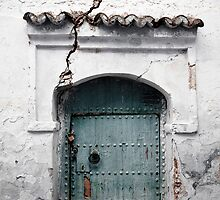 Cracked Doorway by Beth Jennings