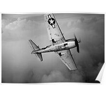 Grumman F6F Hellcat Poster