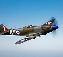 Supermarine Spitfire Mk-18 by StocktrekImages