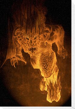Balrog of Morgoth by Curtiss Shaffer