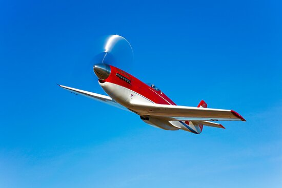 Strega P-51D Mustang by StocktrekImages
