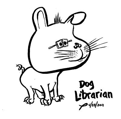 Dog Librarian by joesmithrealnam