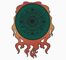 Okami Solar Disc by Rebecca -