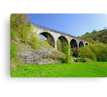 Monsal Dale Viaduct Canvas Print