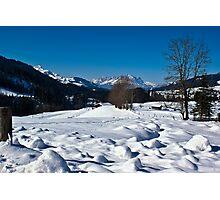 Snowscape 1 Photographic Print