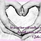 Let's not love with words by Llawphotography