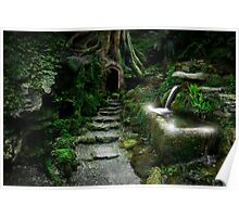 Entrance to Rivendell Poster