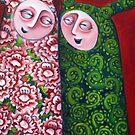 Seven sisters - detail by Belin