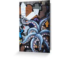 Graffiti art, Glasgow Greeting Card