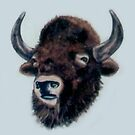 Wooly Bison by Shane Highfill