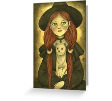 Luna The Long Forgotten Witch Greeting Card