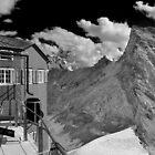 mountain hut by neil harrison