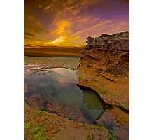 Rock Pool two in Colour Photographic Print