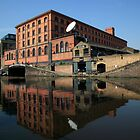 Regent's Canal, Just above Camden Lock by John Gaffen