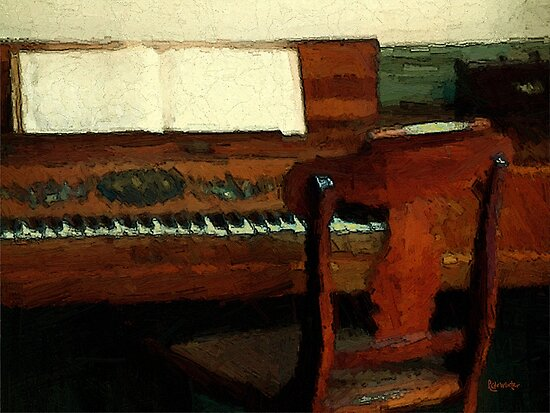 The Square Piano by RC deWinter