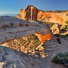 Side View of Mesa Arch by Ian Berry