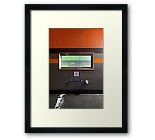 One Dollar Buys Two Minutes Framed Print
