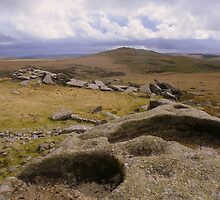 Cornwall: Rock Basins on Showery Tor by Rob Parsons
