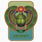 Egyptian Scarab - Good Happy Life  by ArtoJ