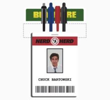 Chuck Name Tag by Adam Angold