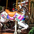 Carousel Horse at the Belliago  by RichardKlos