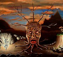 Stump Head by chris benice