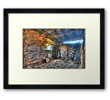 Fixer Upper - Denmans Cottage, Hill End NSW - The HDR Experience Framed Print