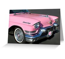 """Cruizin For A Cure"" Greeting Card"