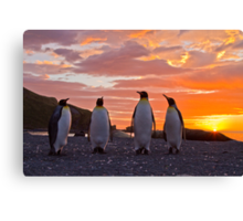 A Sunrise Fit for Kings Canvas Print