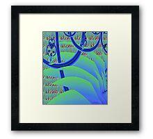 """Jungle Gym"" Framed Print"