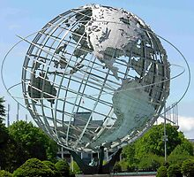 Welcome to Flushing Meadows NY by Christina Martinez