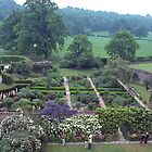 Garden, Sissinghurst Palace, Kent, UK.  by johnrf