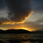 tassie sunset. australia by tim buckley | bodhiimages photography